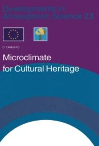 Ebook in inglese Microclimate for Cultural Heritage Camuffo, D.