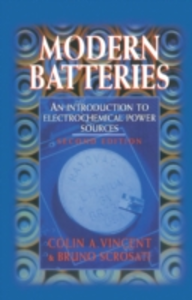 Ebook in inglese Modern Batteries 2nd Edition Scrosati, Bruno , Vincent, C.