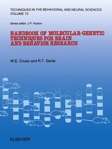Ebook in inglese Handbook of Molecular-Genetic Techniques for Brain and Behavior Research