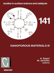 Ebook in inglese Nanoporous Materials III Jaroniec, M. , Sayari, Abdel