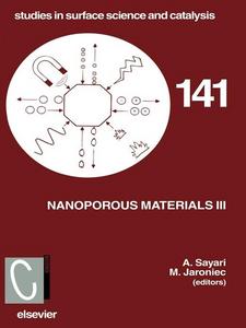 Ebook in inglese Nanoporous Materials III Jaroniec, M. , Sayari, Abdel