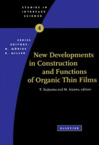 Foto Cover di New Developments in Construction and Functions of Organic Thin Films, Ebook inglese di  edito da Elsevier Science