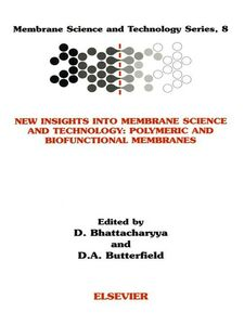 Ebook in inglese New Insights into Membrane Science and Technology -, -