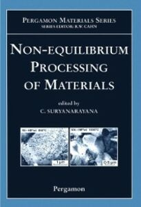 Ebook in inglese Non-equilibrium Processing of Materials Suryanarayana, C.