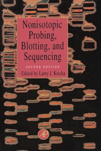 Ebook in inglese Nonisotopic Probing, Blotting, and Sequencing -, -