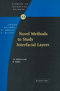 Ebook in inglese Novel Methods to Study Interfacial Layers Miller, R. , Moebius, D.