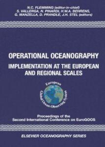 Ebook in inglese Operational Oceanography -, -