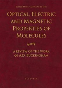 Ebook in inglese Optical, Electric and Magnetic Properties of Molecules -, -