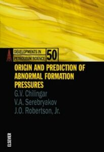 Ebook in inglese Origin and Prediction of Abnormal Formation Pressures