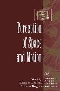Foto Cover di Perception of Space and Motion, Ebook inglese di  edito da Elsevier Science