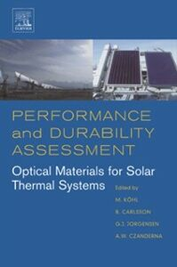 Foto Cover di Performance and Durability Assessment:, Ebook inglese di  edito da Elsevier Science