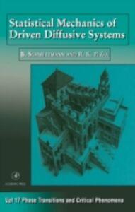 Foto Cover di Statistical Mechanics of Driven Diffusive Systems, Ebook inglese di  edito da Elsevier Science