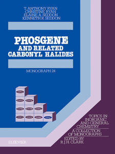 Foto Cover di Phosgene, Ebook inglese di AA.VV edito da Elsevier Science