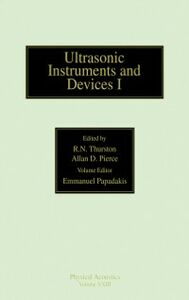 Ebook in inglese Reference for Modern Instrumentation, Techniques, and Technology: Ultrasonic Instruments and Devices I -, -