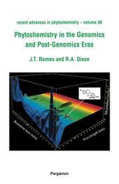 Phytochemistry in the Genomics and Post-Genomics Eras