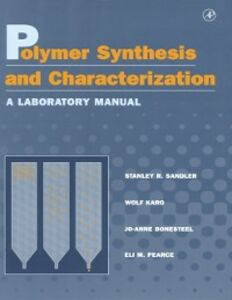 Foto Cover di Polymer Synthesis and Characterization, Ebook inglese di AA.VV edito da Elsevier Science