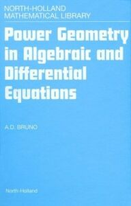 Ebook in inglese Power Geometry in Algebraic and Differential Equations -, -