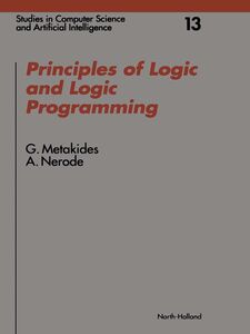 Ebook in inglese Principles of Logic and Logic Programming Metakides, G. , Nerode, A.