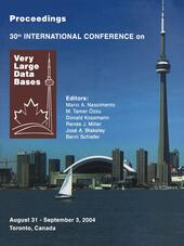 Proceedings 2003 VLDB Conference