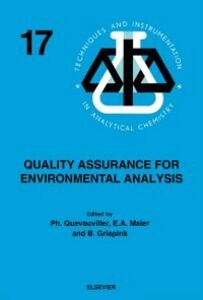 Ebook in inglese Quality Assurance for Environmental Analysis -, -