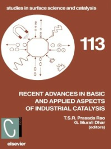 Ebook in inglese Recent Advances in Basic and Applied Aspects of Industrial Catalysis -, -