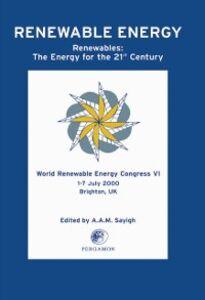 Ebook in inglese World Renewable Energy Congress VI -, -