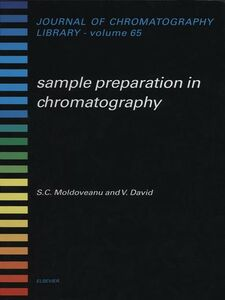 Ebook in inglese Sample Preparation in Chromatography David, V. , Moldoveanu, S.C.