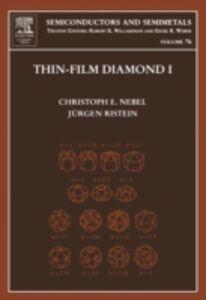 Ebook in inglese Thin-Film Diamond I -, -