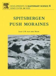 Ebook in inglese Spitsbergen Push Moraines