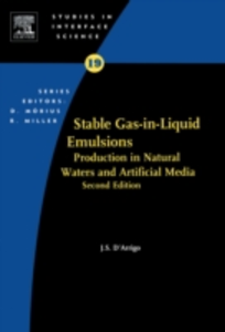 Ebook in inglese Stable Gas-in-Liquid Emulsions D'Arrigo, Joseph