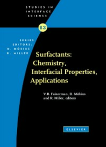 Ebook in inglese Surfactants: Chemistry, Interfacial Properties, Applications Fainerman, V.B. , Miller, R. , Mobius, D.