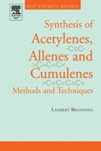 Foto Cover di Best Synthetic Methods: Acetylenes, Allenes and Cumulenes, Ebook inglese di  edito da Elsevier Science