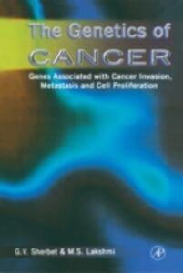 Foto Cover di Genetics of Cancer, Ebook inglese di M. S. Lakshmi,Gajanan V. Sherbet, edito da Elsevier Science