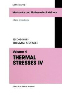 Ebook in inglese Thermal Stresses IV -, -