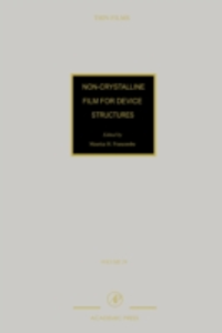 Ebook in inglese Non-Crystalline Films for Device Structures -, -