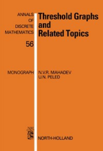 Ebook in inglese Threshold Graphs and Related Topics Mahadev, N.V.R. , Peled, U.N.