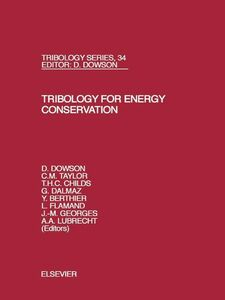 Ebook in inglese Tribology for Energy Conservation -, -