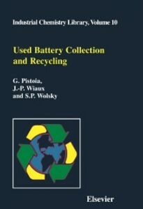 Foto Cover di Used Battery Collection and Recycling, Ebook inglese di AA.VV edito da Elsevier Science