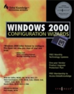 Ebook in inglese Windows 2000 Configuration Wizards Syngress