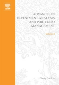 Ebook in inglese Advances in Investment Analysis and Portfolio Management, Volume 8 -, -