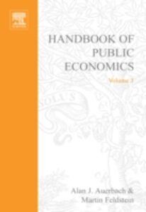 Ebook in inglese Handbook of Public Economics -, -