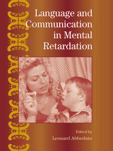 Ebook in inglese Language and Communication in Mental Retardation -, -