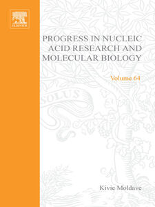 Foto Cover di Progress in Nucleic Acid Research and Molecular Biology, Ebook inglese di  edito da Elsevier Science