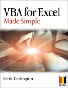 Ebook in inglese VBA For Excel Made Simple Darlington, Keith