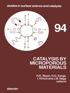 Ebook in inglese Catalysis by Microporous Materials -, -