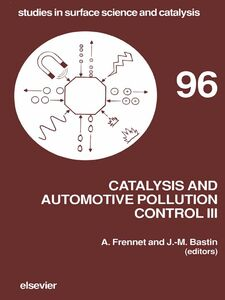 Foto Cover di Catalysis and Automotive Pollution Control III, Ebook inglese di A. Frennet,J.-M. Bastin, edito da Elsevier Science