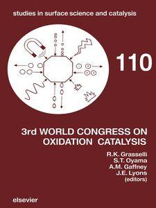 Foto Cover di Third World Congress on Oxidation Catalysis, Ebook inglese di AA.VV edito da Elsevier Science