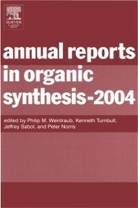 Ebook in inglese Annual Reports in Organic Synthesis