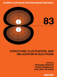 Ebook in inglese Structure, Fluctuation, and Relaxation in Solutions -, -