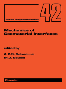 Ebook in inglese Mechanics of Geomaterial Interfaces -, -